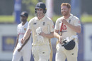 Dan Lawrence and Jonny Bairstow completed the job for England, Sri Lanka v England, 1st Test, Galle, 5th day, January 18, 2021
