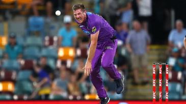 James Faulkner injured his hamstring while bowling against Brisbane Heat