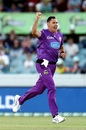 Scott Boland picked up three wickets in five balls, Sydney Thunder vs Hobart Hurricanes, Canberra, BBL 2020-21, January 18, 2021