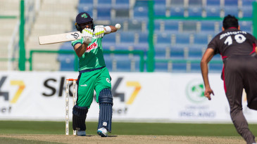 Simi Singh hit a crucial fifty before his match-winning spell in the UAE's run chase