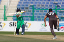 Simi Singh hit a crucial fifty before his match-winning spell in the UAE's run chase, UAE vs Ireland, Abu Dhabi, January 18, 2021