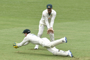 Tim Paine dives in front of first slip to catch Rohit Sharma, Australia vs India, 4th Test, Brisbane, 5th day, January 19, 2021