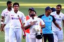 Rishabh Pant takes a moment to relish the win, Australia vs India, 4th Test, Brisbane, 5th day, January 19, 2021
