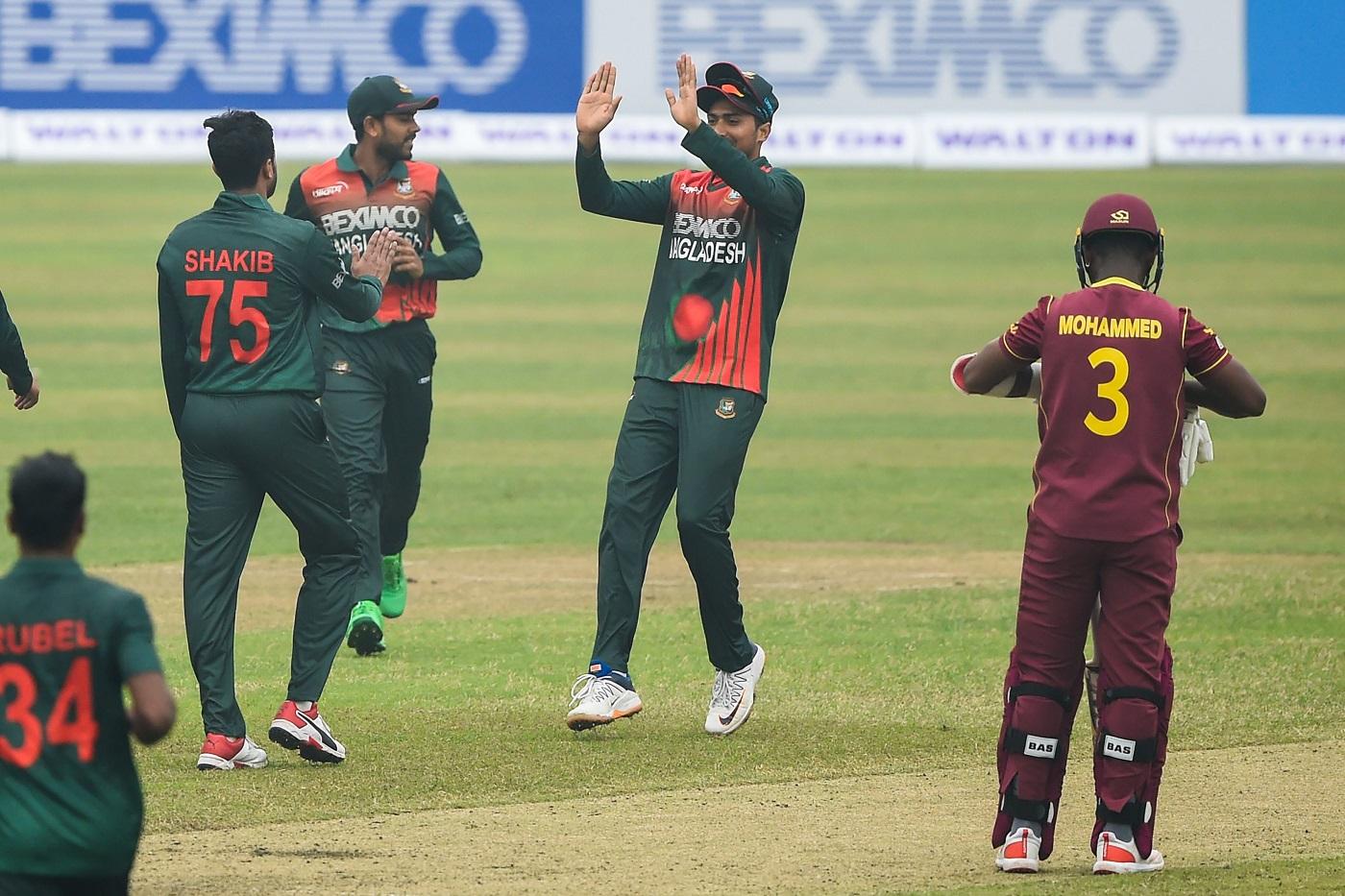 Recent Match Report West Indies Vs Bangladesh 1st Odi 2020 21 Espncricinfo Com