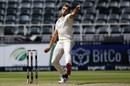 Wiaan Mulder bowls, South Africa vs Sri Lanka, 2nd Test, 2nd day, Johannesburg, January 4, 2021