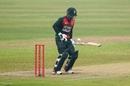 Liton Das negotiates a short ball, Bangladesh v West Indies, 1st ODI, Mirpur, January 20, 2021