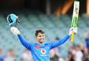 Alex Carey made the first century of the BBL season, Adelaide Strikers vs Brisbane Heat, Adelaide Oval, Big Bash League, January 21, 2021