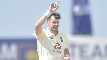 James Anderson marked his return with two early strikes