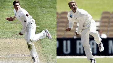 Composite: Mitchell Santner and Daniel Vettori