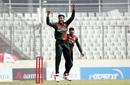 Shakib Al Hasan goes up in appeal, Bangladesh vs West Indies, 2nd ODI, Dhaka, January 22, 2021