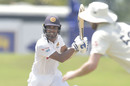 Dinesh Chandimal works the ball to the off side, Sri Lanka vs England, 2nd Test, Galle, 1st day, January 22, 2021