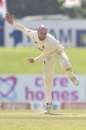 Jack Leach didn't find much purchase from the Galle pitch, Sri Lanka vs England, 2nd Test, Galle, 1st day, January 22, 2021