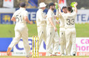 Mark Wood struck with his second wicket of the match, Sri Lanka vs England, 2nd Test, Galle, 2nd day, January 23, 2021