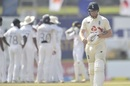 England lost Bairstow early on the third morning in Galle, Sri Lanka vs England, 2nd Test, Galle, 3rd day, January 24, 2021