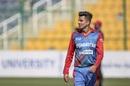 Mujeeb Ur Rahman offers both control and menace with the new ball, Afghanistan vs Ireland, 2nd ODI, Abu Dhabi, January 24, 2021