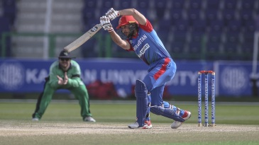 Rahmat Shah was most effective with his drives around the ground