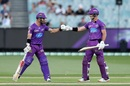 Matthew Wade and D'Arcy Short added 145 for the first wicket against Sydney Sixers, Hobart Hurricanes vs Sydney Sixers, BBL 2020-21, Melbourne, January 24, 2021