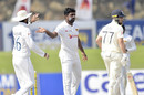 Dilruwan Perera picked up the final wicket on the fourth morning, Sri Lanka vs England, 2nd Test, Galle, 4th day, January 25, 2021