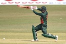 Tamim Iqbal drives towards the covers, Bangladesh vs West Indies, 3rd ODI, Chattogram, January 25, 2020