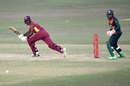 West Indies captain Jason Mohammed lunges forward to play a shot, Bangladesh vs West Indies, 3rd ODI, Chattogram, January 25, 2020