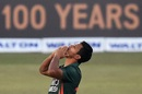 Mohammad Saifuddin celebrates a wicket, Bangladesh vs West Indies, 3rd ODI, Chattogram, January 25, 2020