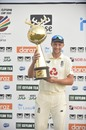 Joe Root holds aloft the series trophy, Sri Lanka vs England, 2nd Test, Galle, 4th day, January 25, 2021