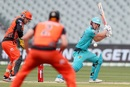 Chris Lynn scored a quick 51 at the top of the Heat innings, Brisbane Heat vs Perth Scorchers, BBL 2020-21, Adelaide, January 26, 2021