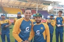 Imran Butt receives his Test cap from Younis Khan, Pakistan vs South Africa, 1st Test, Karachi, 1st day, January 26, 2021