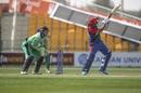 Asghar Afghan works one with the spin, Afghanistan vs Ireland, 3rd ODI, Abu Dhabi, January 26, 2021