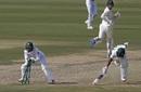 Mohammad Rizwan breaks the stumps to find Temba Bavuma short, Pakistan vs South Africa, 1st Test, Karachi, 1st day, January 26, 2021