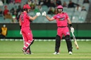 Dan Christian and Jordan Silk put up an unbeaten 77-run stand, Melbourne Stars vs Sydney Sixers, BBL 2020-21, Melbourne, January 26, 2021