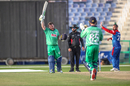 Paul Stirling celebrates getting to a second successive century against Afghanistan, Afghanistan vs Ireland, 3rd ODI, Abu Dhabi, January 26, 2021