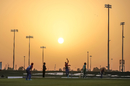 The sun sets on the third Afghanistan vs Ireland ODI in Abu Dhabi, Afghanistan vs Ireland, 3rd ODI, Abu Dhabi, January 26, 2021