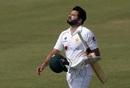 A disappointed Azhar Ali walks back, Pakistan vs South Africa, 1st Test, Karachi, 2nd day, January 27, 2021