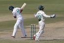 Azhar Ali is disappointed as he edges one to Quinton de Kock, Pakistan vs South Africa, 1st Test, Karachi, 2nd day, January 27, 2021