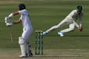 Faf du Plessis takes a sharp catch to remove Mohammad Rizwan, Pakistan vs South Africa, 1st Test, Karachi, 2nd day, January 27, 2021