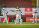 Yasir Shah is pumped up after taking a wicket, Pakistan vs South Africa, 1st Test, Karachi, day 3, January 28, 2021