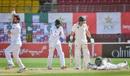 Mohammad Rizwan's diving catch ends Dean Elgar's innings, Pakistan vs South Africa, 1st Test, Karachi, day 3, January 28, 2021