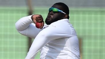 Rahkeem Cornwall returned a five-wicket haul
