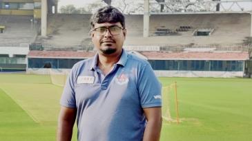 V Ramesh Kumar is the curator at M Chidambaram Stadium for the India vs England Tests