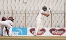 Shadman Islam works one with the spin, Bangladesh vs West Indies, 1st Test, Chattogram, Day 1, February 3, 2021