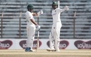 Shakib Al Hasan and Mehidy Hasan Miraz have a chat, Bangladesh vs West Indies, 1st Test, Chattogram, Day 2, February 4, 2021