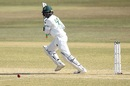 Shakib Al Hasan plays one on the off side, Bangladesh vs West Indies, 1st Test, Chattogram, Day 2, February 4, 2021
