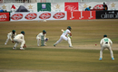 Fawad Alam gets forward to meet one, Pakistan v South Africa, 2nd Test, Rawalpindi, 1st day, February 4, 2021