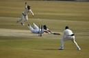 Temba Bavuma's direct hit catches a diving Fawad Alam short, Pakistan vs South Africa, 2nd Test, Rawalpindi, 2nd day, February 5, 2021