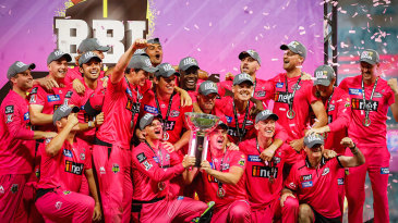 Sydney Sixers became back-to-back champions