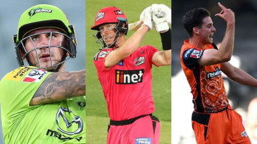 Three of ESPNcricinfo's BBL team of the season