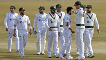 Hasan Ali and Shaheen Afridi took nine second-innings wickets between them