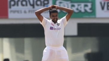 R Ashwin reacts