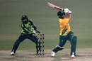 Jacques Snyman fell to the wiles of Usman Qadir, Pakistan vs South Africa, 1st T20I, Lahore, February 11, 2021